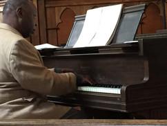 Carl Blake at Piano 2014