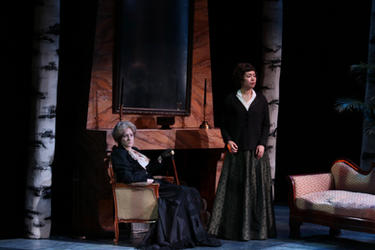 The Old Baroness in Vanessa, The Mannes Opera