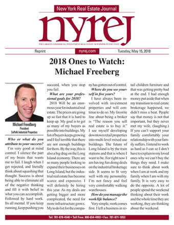 2018 Ones to Watch: Michael Freeberg (Nyrej)
