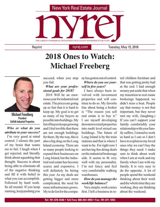 2018 Ones to Watch: Michael Freeberg (Nyrej)