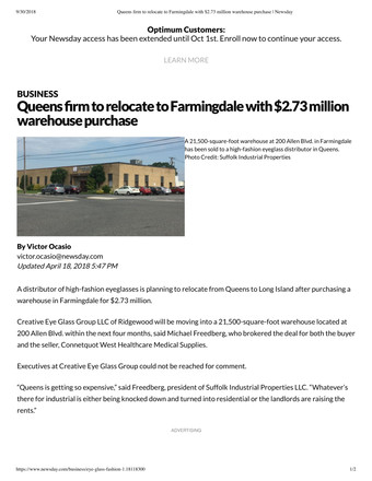 Queens Firm to relocate to Farmingdale with $2.73 million warehouse purchase