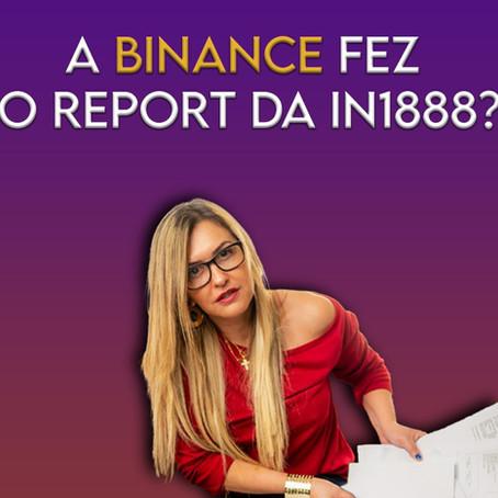 A Binance está reportando as operações dos brasileiros à Receita Federal?