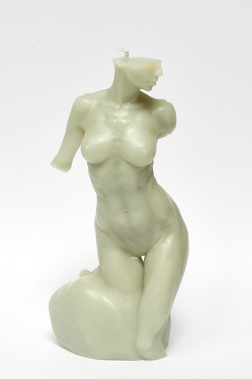 Bitten by Eve -SOFT JADE sculpture candle