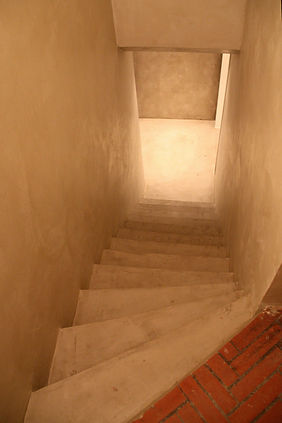 micromortar stairs