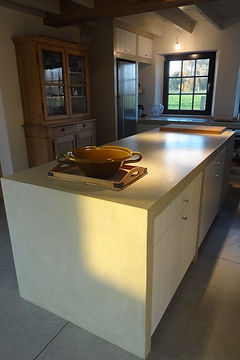 microcement worktop