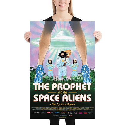The  Prophet and space aliens- Poster