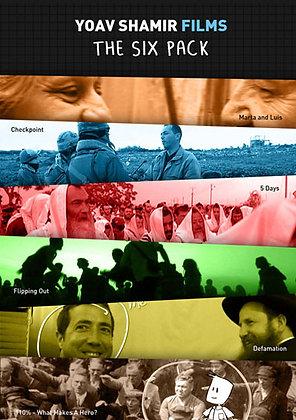 Yoav Shamir DVD pack - 6 films