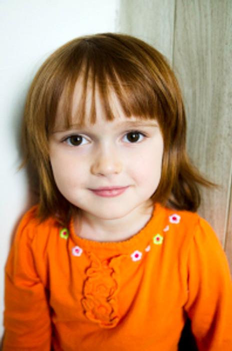 Three-Year-Old Girl