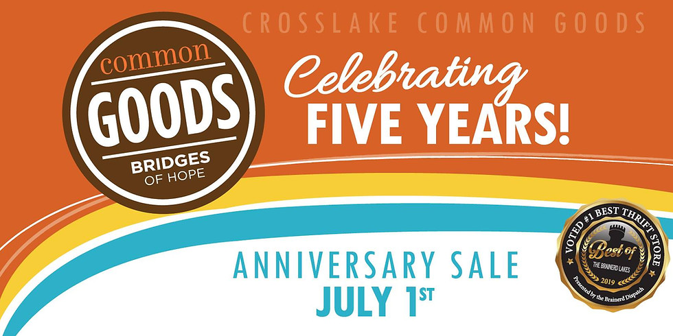 Crosslake's 5 Year Anniversary Celebration