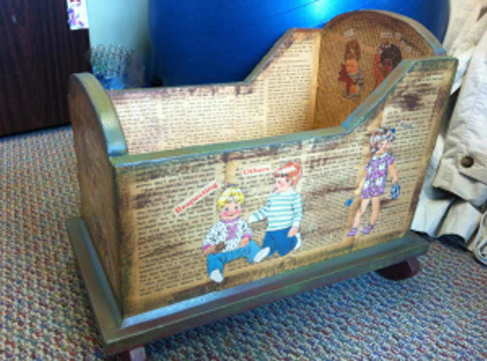 Upcycled Cradle