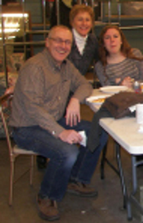 Bill volunteering at Common Goods