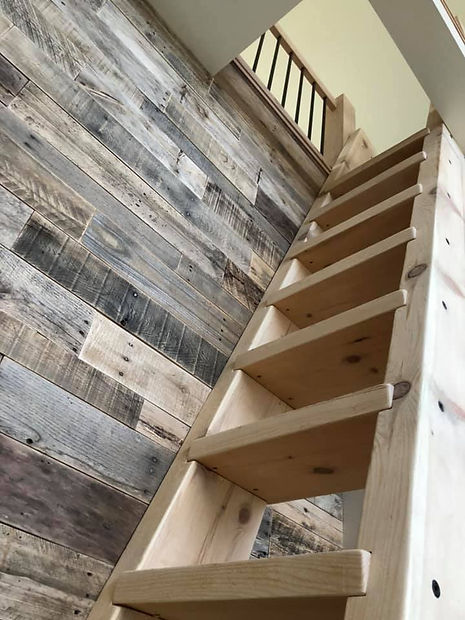 remodeled stairway