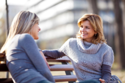 Jane & Sharon: Walking Side by Side