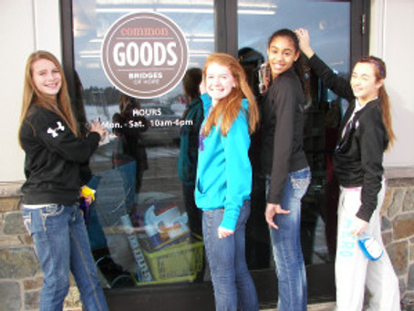 Volunteers Make a Difference at Common Goods