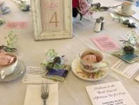 Third-Annual Afternoon Tea a Success
