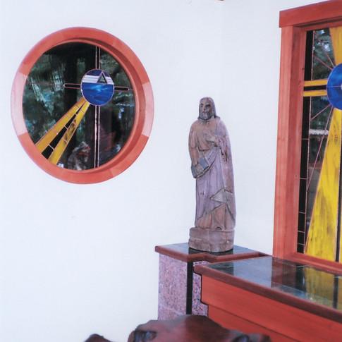 MV chapel window