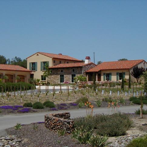 Exterior elevation Roseville country villa