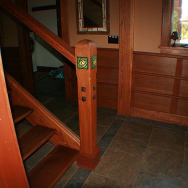 TD entry stair balluster