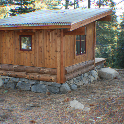 TD warming shed for sled hill