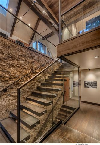 Tahoe staircase
