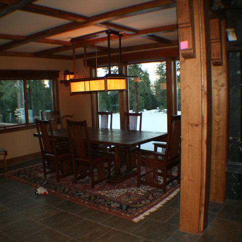 Tahoe Donner dining room 1