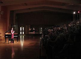 Anita D'Attellis, piano, Wincanton