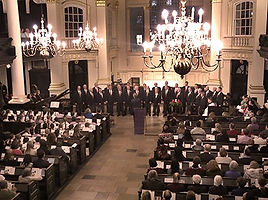 LWRC, London Welsh Rugby Club Choir, St. Martin in the Fields,