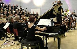 Anita D'Attellis, piano, Wincanton Choral Society, Beethoven Choral Fantasia