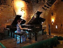 Torre de Canyamel, Mallorca, Anita D'Attellis, piano
