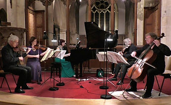 Anita D'Attellis, piano, Paul Cox, cello, Mandy Beard, violin, Ron Colyer, Chris Walker, viola, Dvorak Quintet, Chiltern Centre