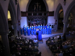 All Saints Marlow, choir, Youth concert, Winter Recitals, Wallingford, Anita D'attellis, piano