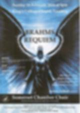 Somerset Chamber Choir, Richard Pearce, organ, Anita D'Attellis, piano, Brahms Requiem