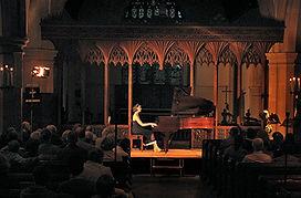 Anita D'Attellis, piano, Milverton Concert Society