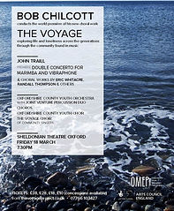 Anita D'Attellis, piano, Bob Chilcott, The Voyage, Sheldonian, Oxford