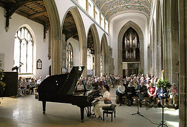 Anita D'Attellis, piano, Chelmsford Cathedral