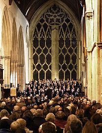 Anita D'Attellis, piano, Benson Choral Society in Dorchester Abbey, Belshazzar's Feast, Shostakovich, piano concerto