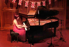 Anita D'Attellis, piano, Henley on Thames, Last night of the Proms, Christchurch, Beethoven, Chopin, Bach-Busoni