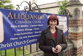 Aliquando, chamber choir, Anita D'Attellis, piano