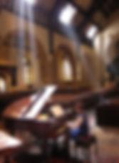 Anita D'Attellis, piano, Reading Minster