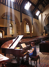 Anita D'Attellis, piano, Reading Minster