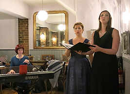 Harriet Kirk, mezzo-soprano, Krystal Macmillan, soprano, Anita D'Attellis, piano, opera