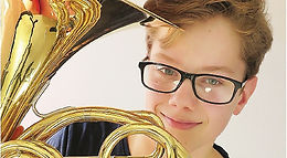 Matthew Prior, French Horn, Anita D'Attellis, piano, Winter Recitals, Wallingford