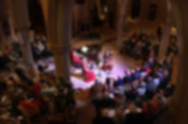Anita D'Attellis, piano, Jacqueline Johnson, cello, Hannah Roper, violin, Russia, Piano Trio, Tchaikovsky, Arensky, Winter Recitals, Wallingford