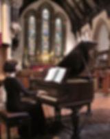 Reading Minster, piano, Anita D'Attellis, Harriet Kirk