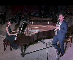 Huw Wiggin, saxophone, Anita D'Attellis, piano, Winter Recitals, Wallingford,
