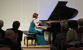 Anita D'Attellis, piano, Phyllis Court