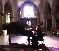 Mina Miletic, Anita D'Attellis, piano, Winter Recitals, Wallingford, Schubert, Poulenc, Mozart, Mendelssohn, Piazzolla