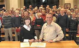 Christopher Walker, Benson Choral Society, Anita D'Attellis, piano, choral workshop