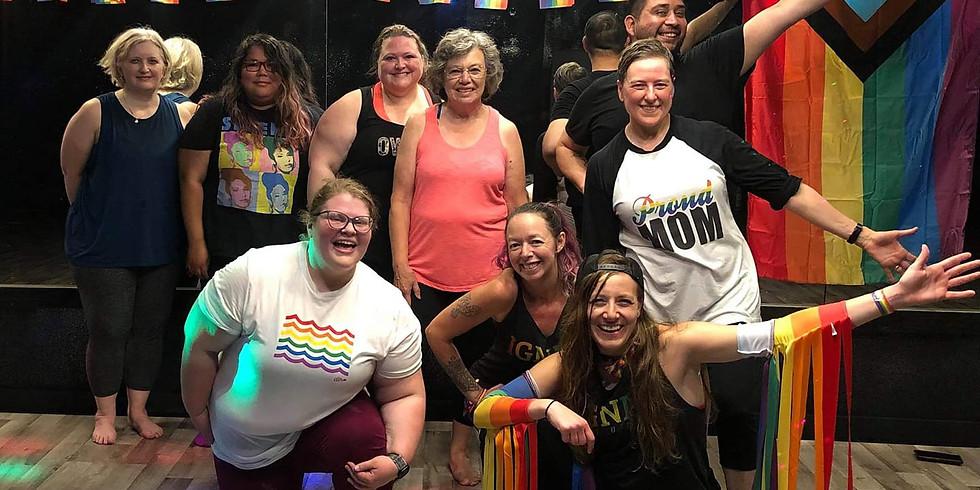 FREE IN-STUDIO and VIRTUAL Duluth/Superior Pride Zumba/Dance Cardio/PomSquad Fitness!