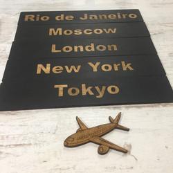 таблички с городами